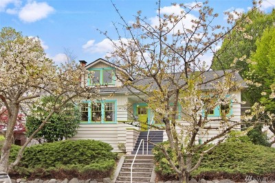 Seattle Single Family Home For Sale: 6327 21st Ave NE