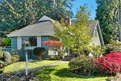 Seattle Single Family Home For Sale: 3557 NE 98th St