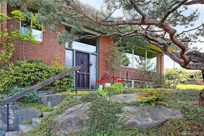 Seattle Single Family Home For Sale: 7645 S Sunnycrest Rd