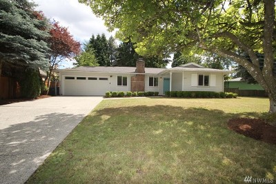 Woodinville Single Family Home For Sale: 12711 NE 156th St