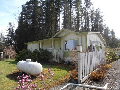 Lewis County Single Family Home For Sale: 1850 Little Hanaford Rd