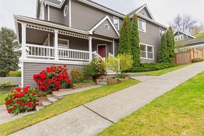 Seattle Single Family Home For Sale: 703 N 60th St