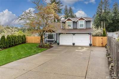 Puyallup Single Family Home For Sale: 7112 162nd St Ct E