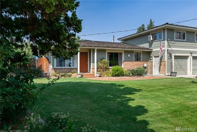 Wenatchee Single Family Home For Sale: 310 W Peters St