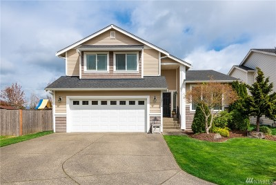 Yelm Single Family Home Contingent: 16328 Cascadian Ct