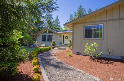 Mason County Single Family Home Pending: 293 E Bucktail View Lane