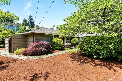 Mercer Island Single Family Home For Sale: 4029 97th Ave SE