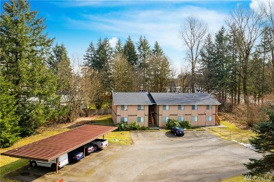 Thurston County Multi Family Home For Sale: 6640 Littlerock Rd SW