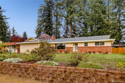 Pierce County Single Family Home For Sale: 14923 25th Ave E