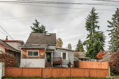 Seattle Single Family Home For Sale: 8739 17th Ave NW