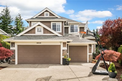 Sammamish Single Family Home For Sale: 4640 230th Terr SE