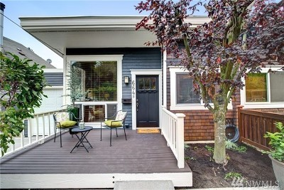 Seattle Single Family Home For Sale: 664 W Emerson St #B