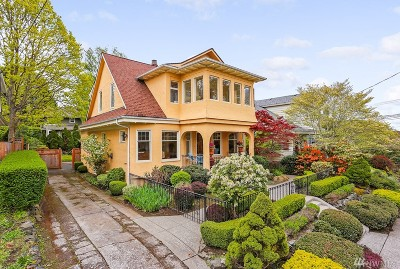 Seattle Single Family Home For Sale: 1813 4th Ave N