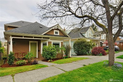 Seattle Single Family Home For Sale: 424 27th Ave E