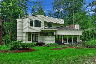 Sammamish Single Family Home For Sale: 2605 Sahalee Dr E