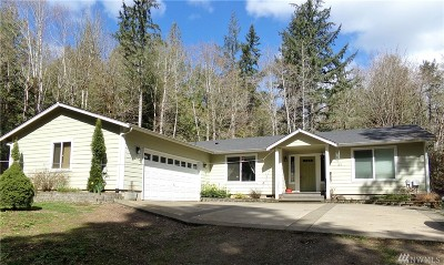 Shelton Single Family Home For Sale: 81 E Pirates Creek Rd