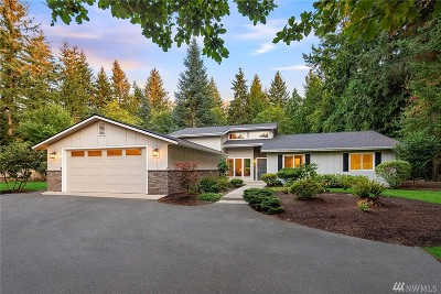 Woodinville Single Family Home For Sale: 19839 NE 123rd Ct