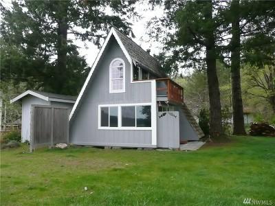 Brinnon Single Family Home For Sale: 141 Duckabush Park