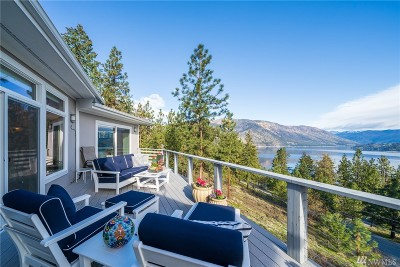 Chelan Single Family Home For Sale: 7385 Ridgeview Dr
