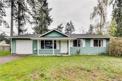 Port Orchard Single Family Home For Sale: 11821 Fry Ave SW
