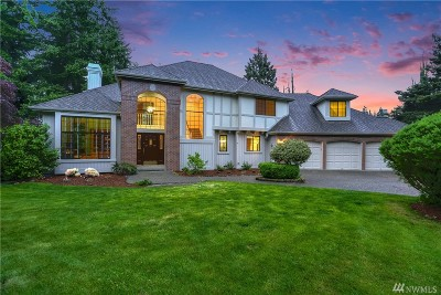Issaquah Single Family Home Contingent: 2198 Squak Mountain Lp SW