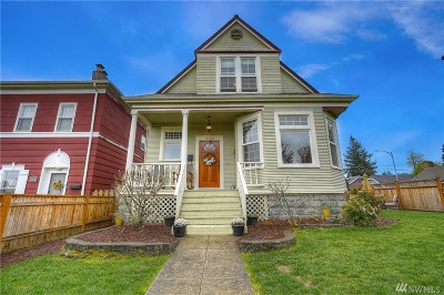 Tacoma Single Family Home For Sale: 3124 N 9th St