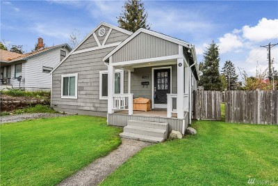 Pierce County Single Family Home For Sale: 4211 Gregory St