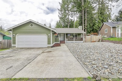 Thurston County Single Family Home For Sale: 9807 Overlook Dr NW