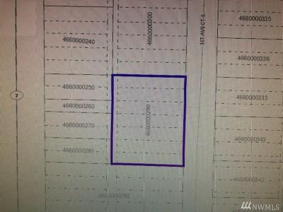 Pierce County Residential Lots & Land For Sale: 18216 1st Av Ct S