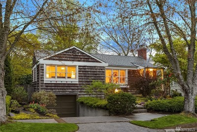 Seattle Single Family Home For Sale: 8215 41 Ave NE