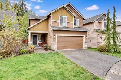 Bothell WA Single Family Home For Sale: $595,000