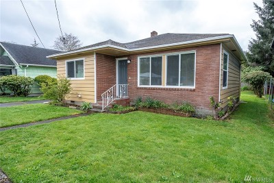 Grays Harbor County Single Family Home For Sale: 419 W King