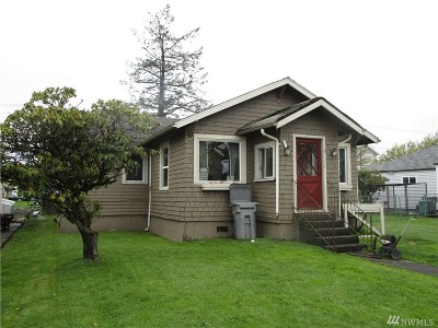 Grays Harbor County Single Family Home For Sale: 812 W Wishkah St
