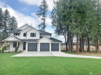 Puyallup Single Family Home For Sale: 7813 124th St Ct E #4