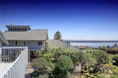 Camano Island Single Family Home For Sale: 480 Green Island Wy