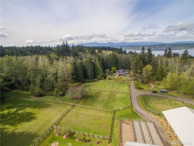 Poulsbo Single Family Home Pending Inspection: 75 NW Lofall Rd