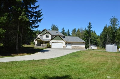 Yelm Single Family Home For Sale: 14300 154th Trail SE