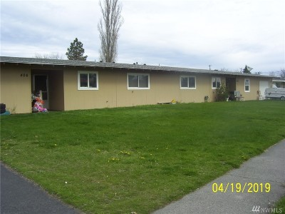 Moses Lake Multi Family Home For Sale: 406 Biggs Rd