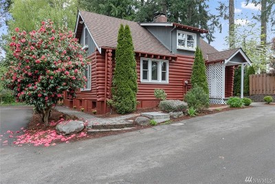 Shoreline Single Family Home For Sale: 19908 3rd Ave NW