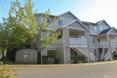 Kenmore Condo/Townhouse For Sale: 17827 80th Ave NE #A201