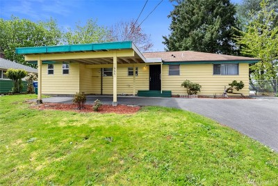 Seattle Single Family Home For Sale: 10001 46th Ave S