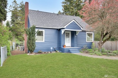Olympia Single Family Home For Sale: 912 Carlyon Ave SE