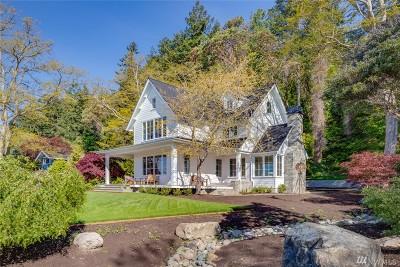 Bainbridge Island Single Family Home For Sale: 10646 NE South Beach Dr