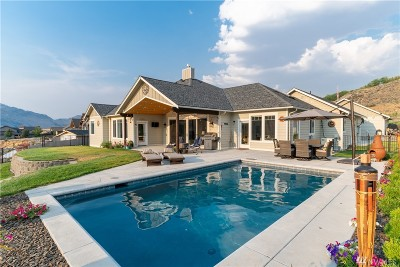 Douglas County, Chelan County Single Family Home For Sale: 19 S Shore Dr