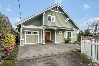 Seattle Single Family Home For Sale: 8510 S 124th St