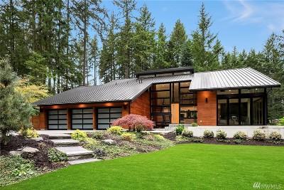 Bellevue WA Single Family Home For Sale: $3,000,000