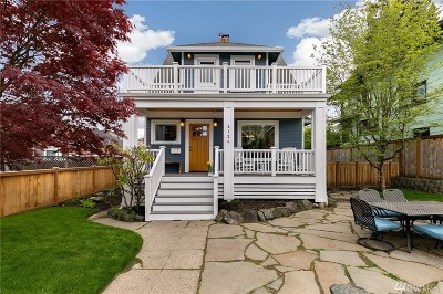 Seattle Single Family Home For Sale: 2126 2nd Ave W