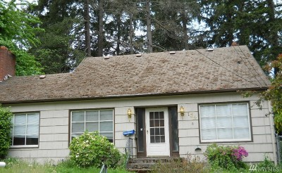 Fircrest Single Family Home For Sale: 134 Eldorado Ave