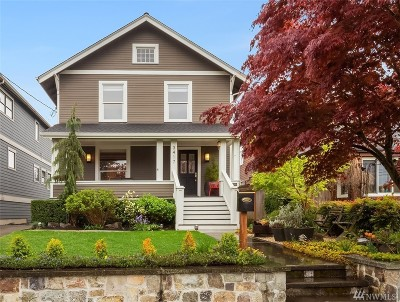 Seattle Single Family Home For Sale: 3417 39th Ave SW