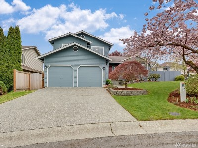 Woodinville Single Family Home For Sale: 12521 NE 166th St